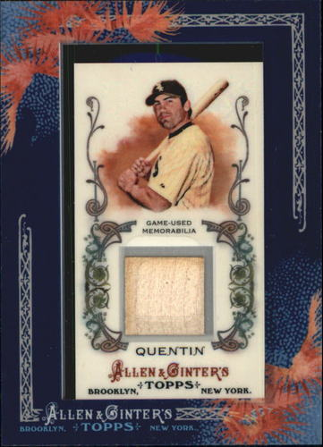 Photo of 2011 Topps Allen and Ginter Relics #CQ Carlos Quentin