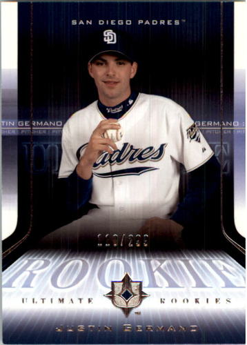 Photo of 2004 Ultimate Collection #170 Justin Germano UR T2 RC