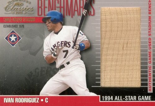 Photo of 2001 Donruss Classics Benchmarks #BM16 Ivan Rodriguez