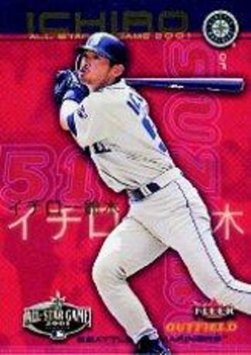 Photo of 2001 Mariners FanFest #8 Ichiro Suzuki Fleer