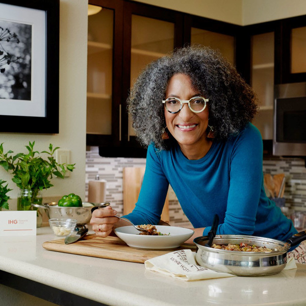 Clickable image to visit Redeem Now: Meet Celebrity Chef Carla Hall and enjoy two tickets to a taping of The Chew