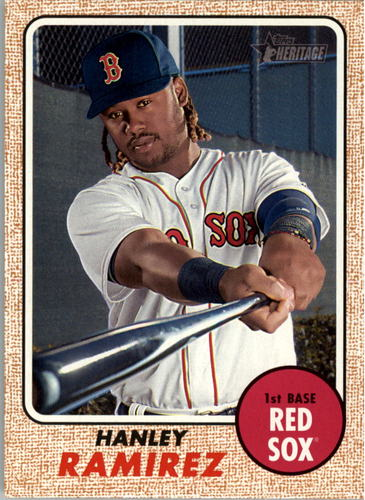 Photo of 2017 Topps Heritage #244 Hanley Ramirez