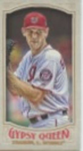 Photo of 2016 Topps Gypsy Queen Mini #19 Stephen Strasburg