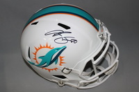 DOLPHINS - DION SIMS SIGNED DOLPHINS REPLICA REVOLUTION HELMET