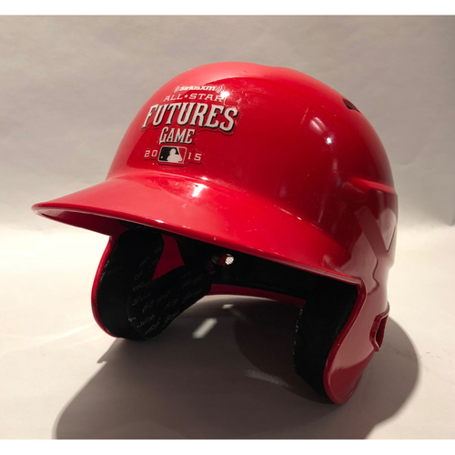 Photo of 2015 Futures Game - Nomar Mazara Game-Used Batting Helmet