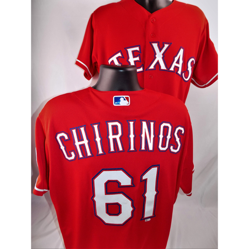 Photo of Robinson Chirinos Game-Used Jersey - Worn June 29, 2018 vs. Chicago White Sox (Went 1-4, HR #11) - Size 46