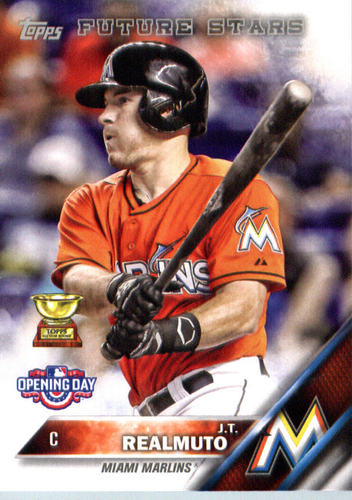 Photo of 2016 Topps Opening Day #OD174 J.T. Realmuto