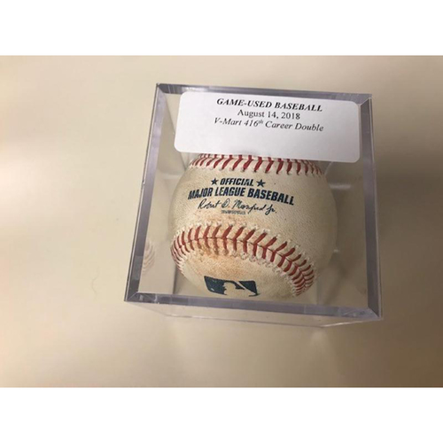 Photo of Game-Used Baseball: Victor Martinez 416th Career Double