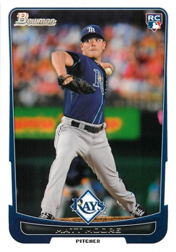 Photo of 2012 Bowman Draft #20 Matt Moore RC