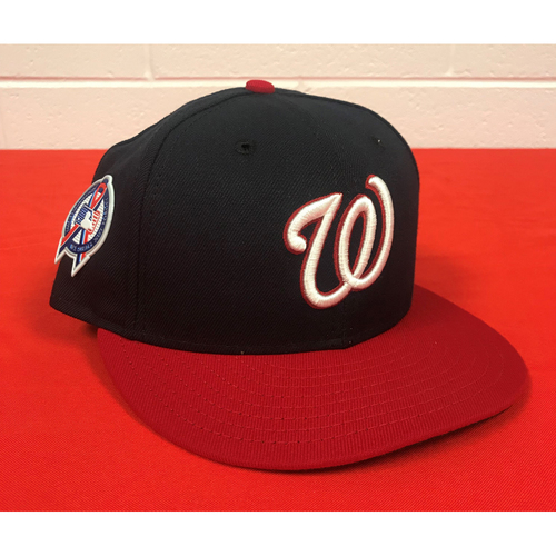 Photo of Max Scherzer Game-Used Washington Nationals 2018 9/11 Commemorative Cap