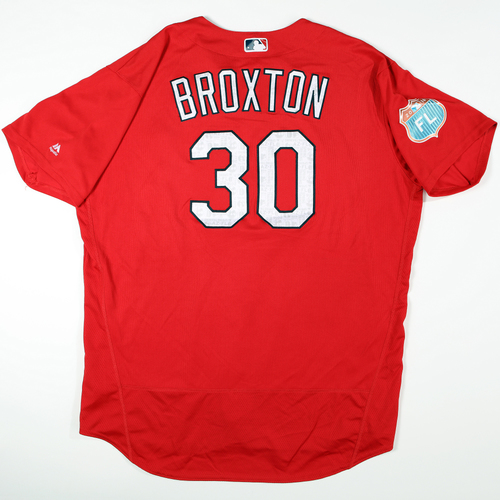 Photo of 2016  Spring Training -  Game-Used Jersey - Jonathan Broxton (Cardinals) - Size 54