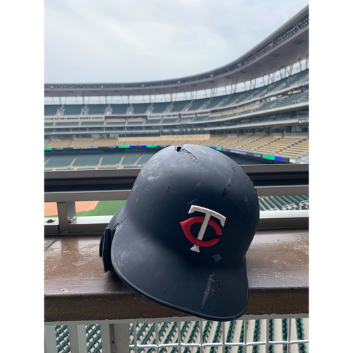 Photo of 2019 Game-used Batting Helmet - Marwin Gonzalez #9 - 1st HR of 2019