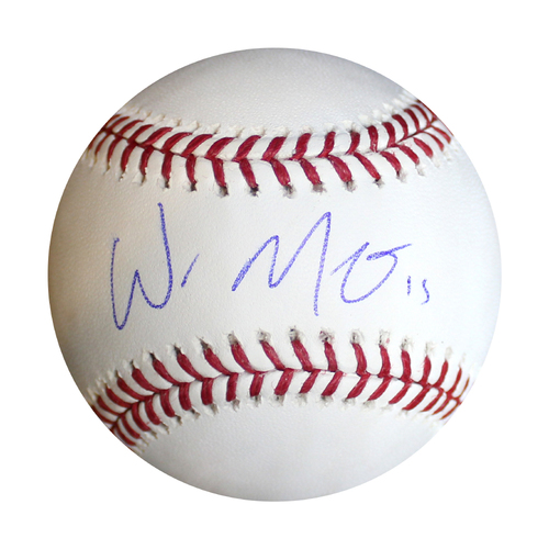 Photo of Autographed Baseball: Whit Merrifield