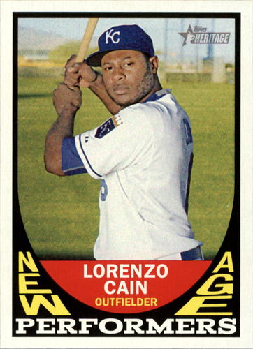 Photo of 2016 Topps Heritage New Age Performers #NAPLC Lorenzo Cain