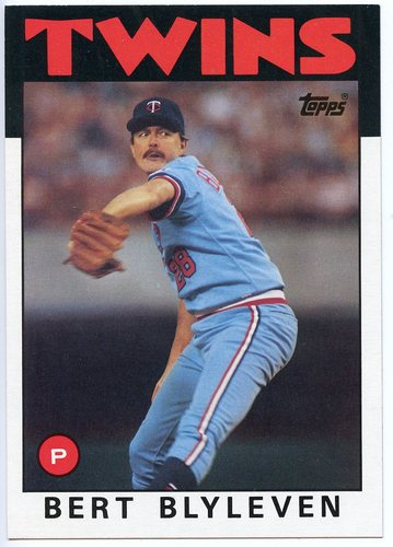 Photo of 1986 Topps Super #11 Bert Blyleven