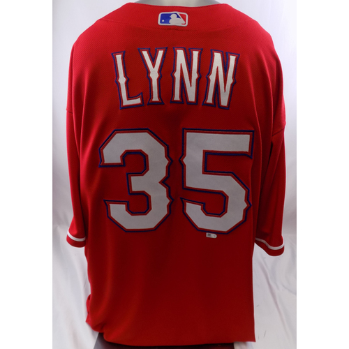 Red Team-Issued Jersey - Lance Lynn - 10/8/19