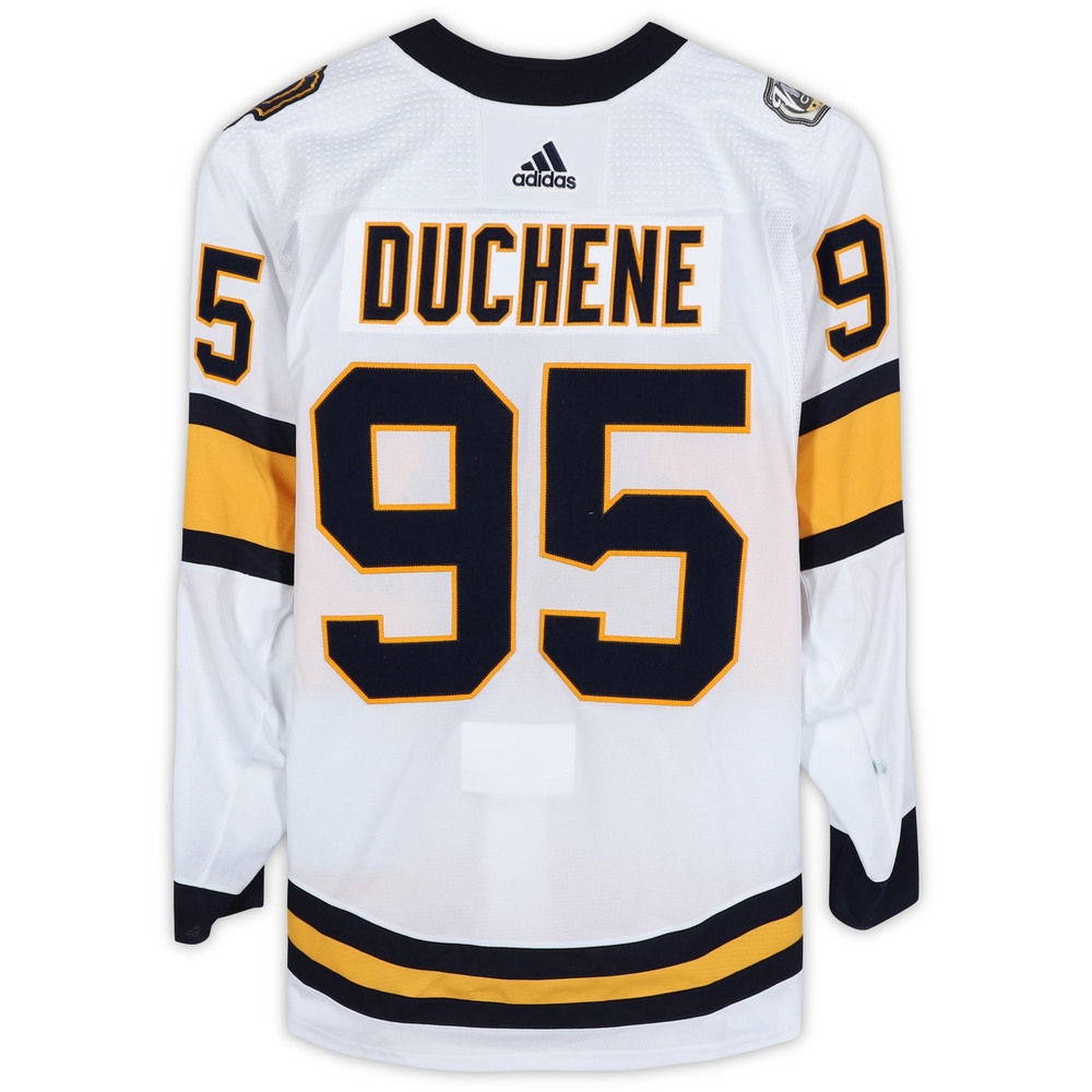 Matt Duchene Nashville Predators Game-Used 2020 NHL Winter Classic Jersey - Worn During First Period
