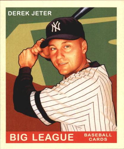 Photo of 2007 Upper Deck Goudey Red Backs #34 Derek Jeter