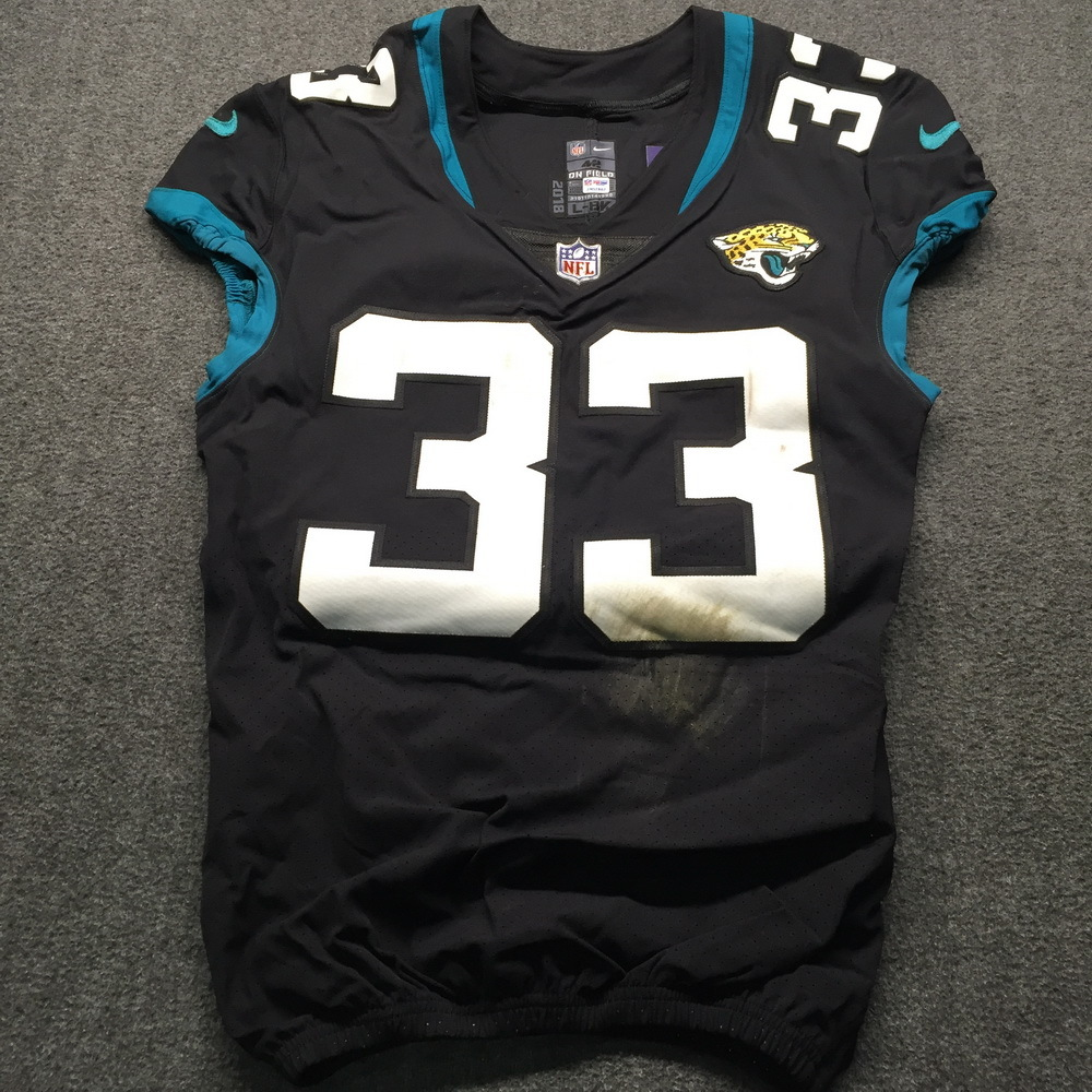 NFL - Jaguars David Williams London Games 10.28.18 Game Used Jersey Size 42