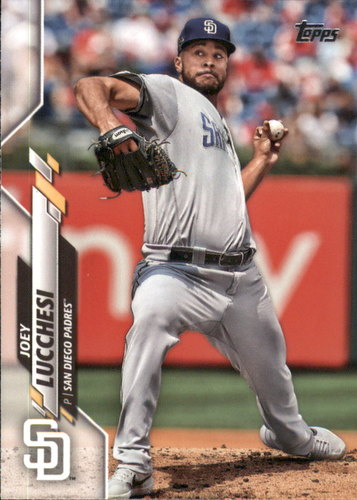 Photo of 2020 Topps #257 Joey Lucchesi