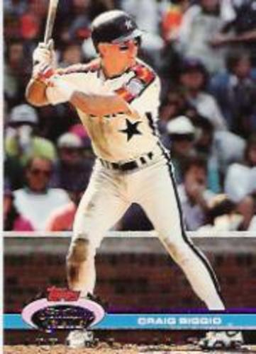 Photo of 1992 Stadium Club Dome #16 Craig Biggio