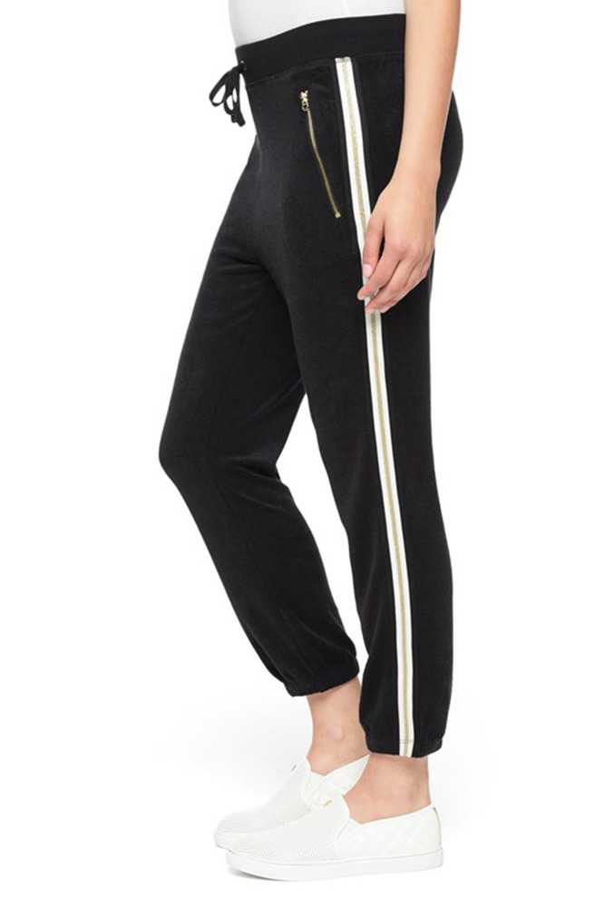 Photo of Juicy Couture Black Label Women's Microterry with Racer Stripe