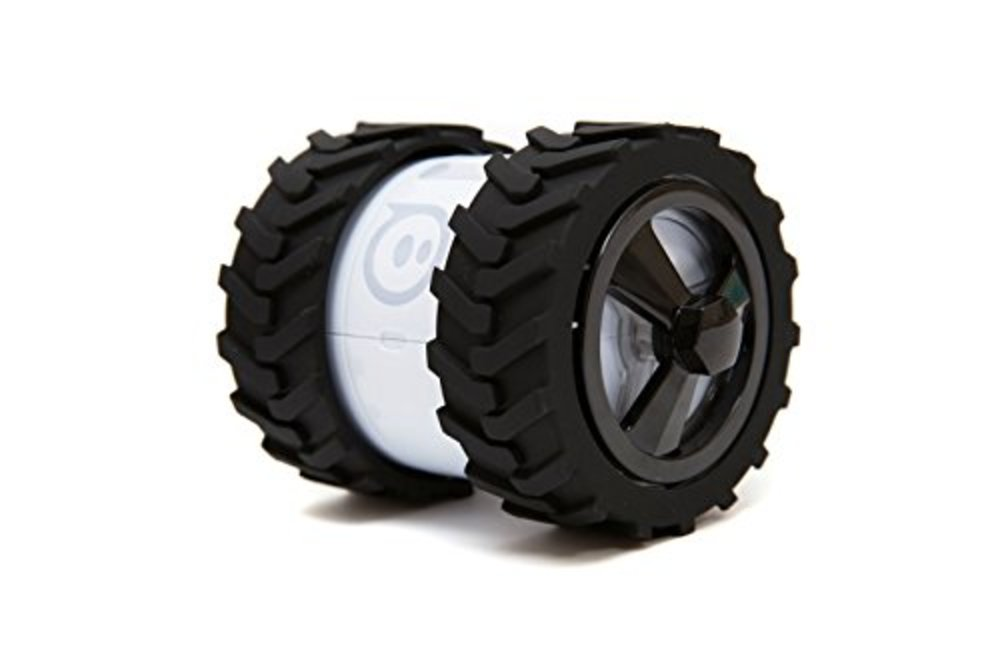 Photo of Hexnub Sphero Ollie Monster Tyres Designed for Traction (Black)