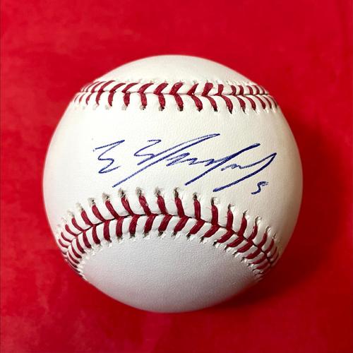Photo of Eduardo Escobar Autographed Baseball