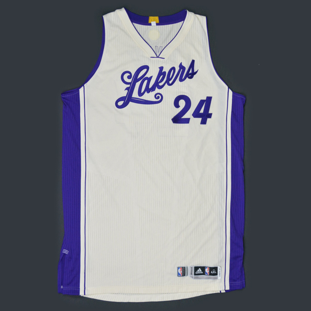 e8d90ee761f0 Kobe Bryant - Los Angeles Lakers - Game-Worn Jersey - NBA Christmas Day