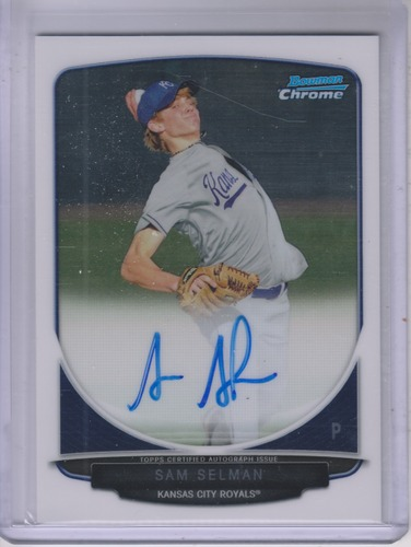 Photo of 2013 Bowman Chrome Prospect Autographs #SS Sam Selman