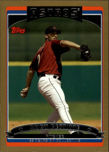 Photo of 2006 Topps Gold #95 Andy Pettitte