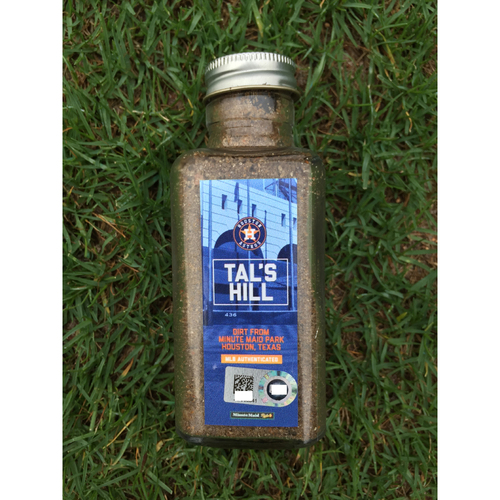 Tal's Hill Dirt Jar From Minute Maid Park