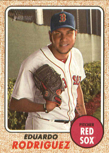 Photo of 2017 Topps Heritage #522 Eduardo Rodriguez