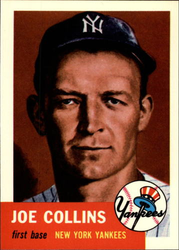 Photo of 1991 Topps Archives 1953 #9 Joe Collins