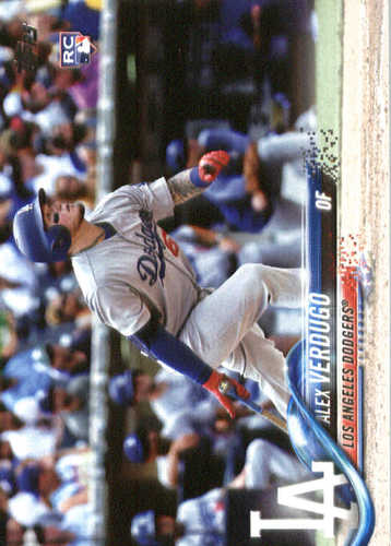 Photo of 2018 Topps #281 Alex Verdugo RC