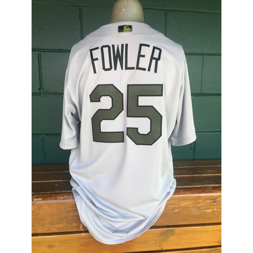 on sale f32c6 77e39 MLB Auctions | Cardinals Authentics: Game Worn Dexter Fowler ...