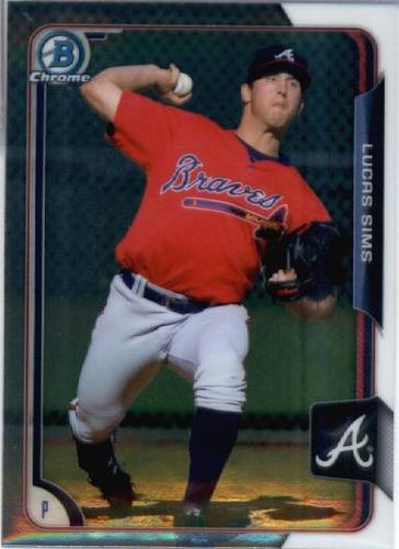 Photo of 2015 Bowman Chrome Prospects #BCP211 Lucas Sims