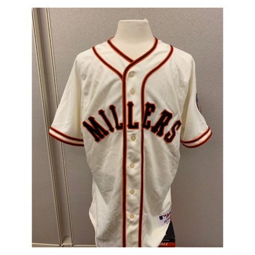 Photo of Minnesota Twins - PJ Walters Autographed Team Issued Minneapolis Millers Jersey #39