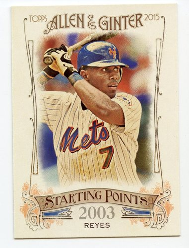 Photo of 2015 Topps Allen and Ginter Starting Points #SP94 Jose Reyes