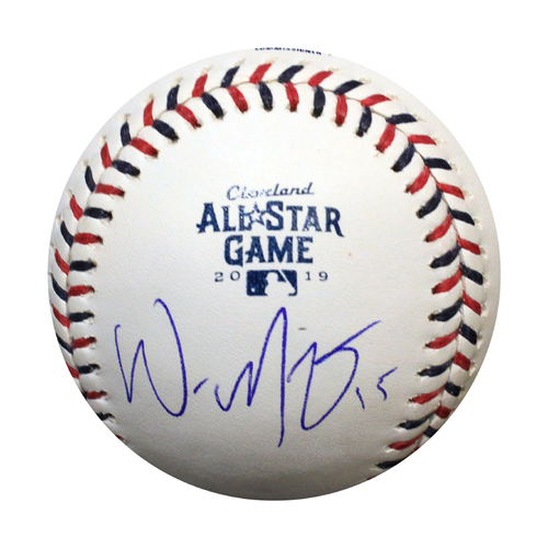 Photo of Autographed 2019 All-Star Game Baseball: Whit Merrifield