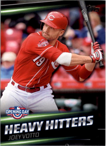 Photo of 2016 Topps Opening Day Heavy Hitters #HH13 Joey Votto