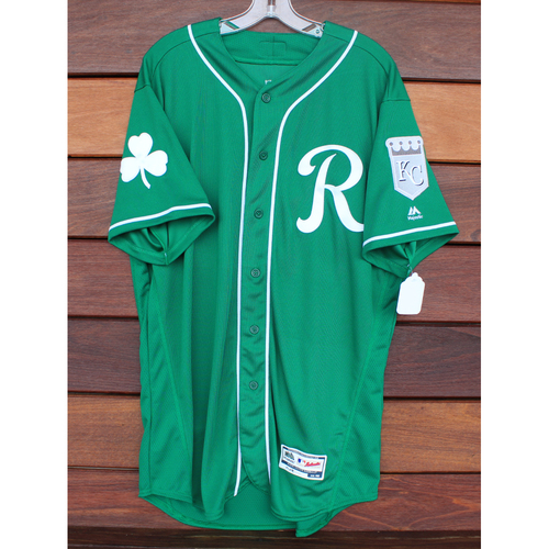 Photo of Team-Issued St. Patrick's Day Jersey: Angelo Castellano (Size - 46)