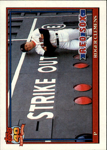 Photo of 1991 Topps #530 Roger Clemens