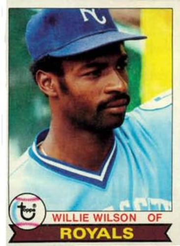 Photo of 1979 Topps #409 Willie Wilson RC