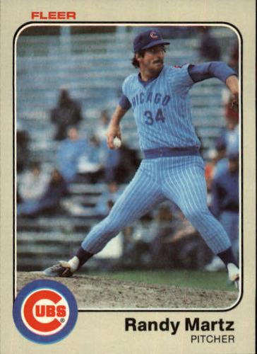 Photo of 1983 Fleer #501 Randy Martz