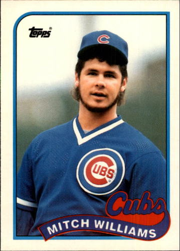 Photo of 1989 Topps Traded #130T Mitch Williams