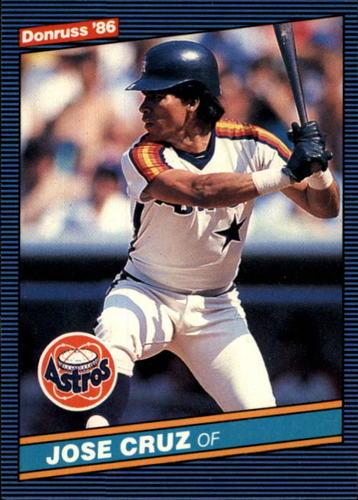 Photo of 1986 Donruss #60 Jose Cruz