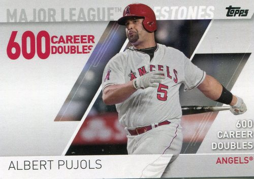 Photo of 2017 Topps Major League Milestones #MLM2 Albert Pujols