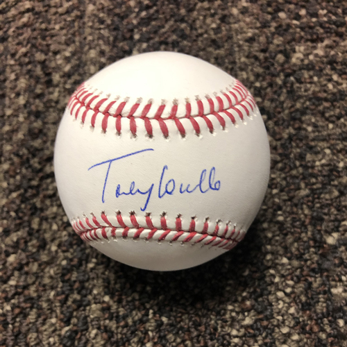 Photo of Torey Lovullo Autographed Baseball