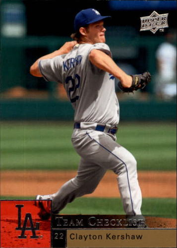 Photo of 2009 Upper Deck #984 Clayton Kershaw CL